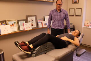 Lower Back Stretch During Pregnancy